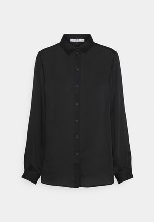 MATIAMU BY SOFIA X STRUCTURED OVERSIZED  - Button-down blouse - black