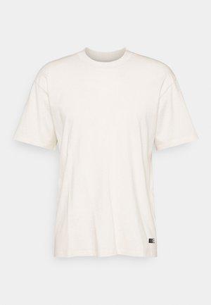 OVERSIZE PLAIN SYNERGY - T-shirts basic - whisper white