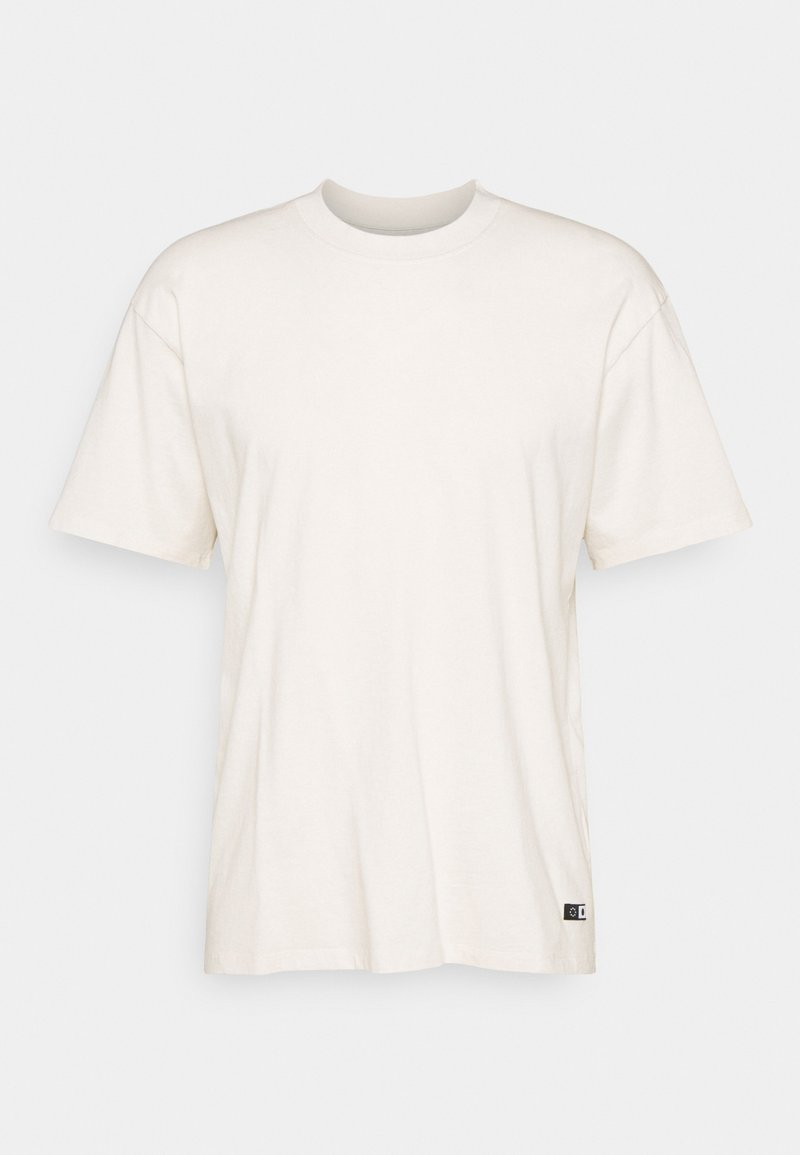 Edwin - OVERSIZE PLAIN SYNERGY - T-shirt - bas - whisper white