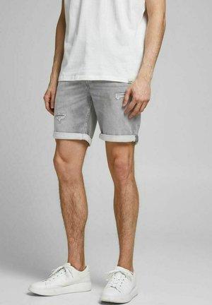 RICKICON GE - Denim shorts - grey denim