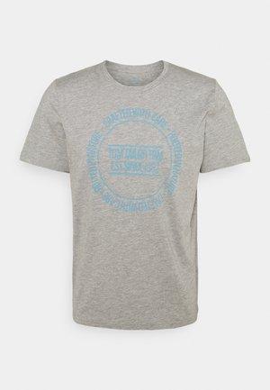 PRINTED - Camiseta estampada - middle grey melange