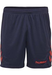 Hummel - DUO SET - Sports shorts - true red/marine - 3