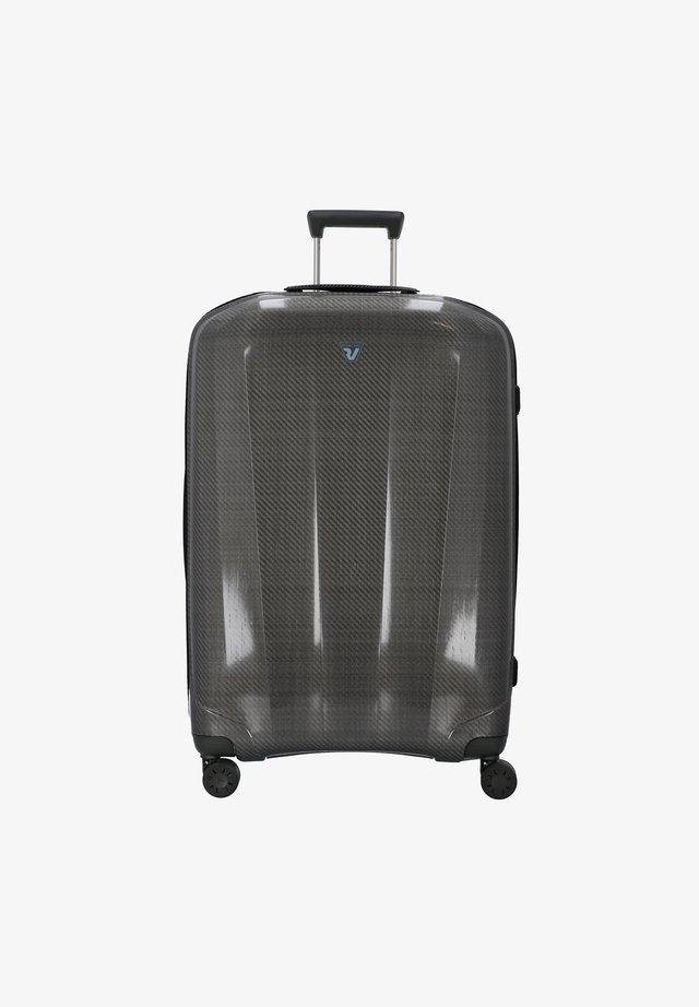 WE ARE GLAM  - Wheeled suitcase - nero-platino