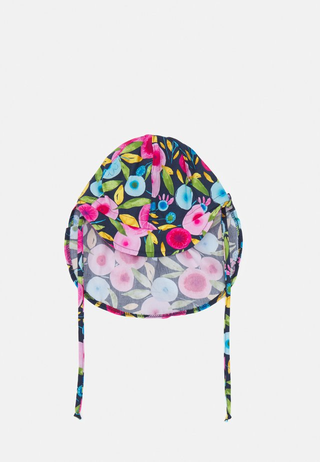 MINI GIRL - Bonnet - navy/pink