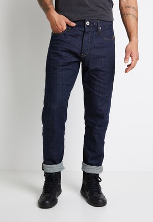 SCUTAR 3D SLIM TAPERED 3D RAW DENIM MEN - Jeans fuselé -  raw denim