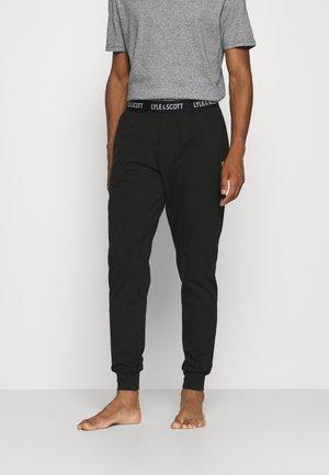 EZRA - Pyjamahousut/-shortsit - black