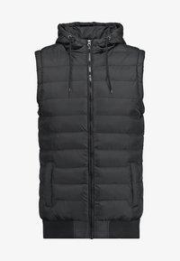 Urban Classics - SMALL BUBBLE - Waistcoat - black - 6
