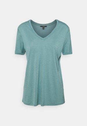 TEE - Jednoduché triko - dark turquoise