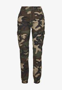 Urban Classics - Cargo trousers - woodcamo - 6