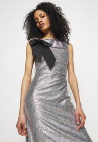 Lauren Ralph Lauren - LONG GOWN - Occasion wear - dark grey/silver - 3