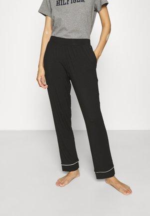 ULTRA SOFT SLEEP PANT - Pyjamahousut/-shortsit - black