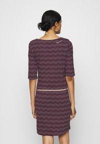 Ragwear - TANYA  - Jersey dress - wine red - 2