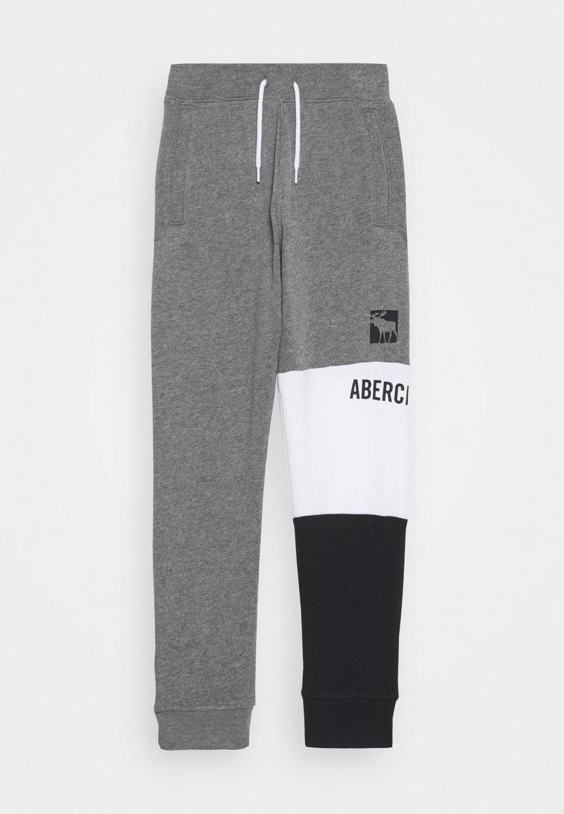 Abercrombie & Fitch - LOGO JOGGER - Teplákové kalhoty - grey
