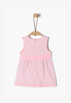 Day dress - light pink aop