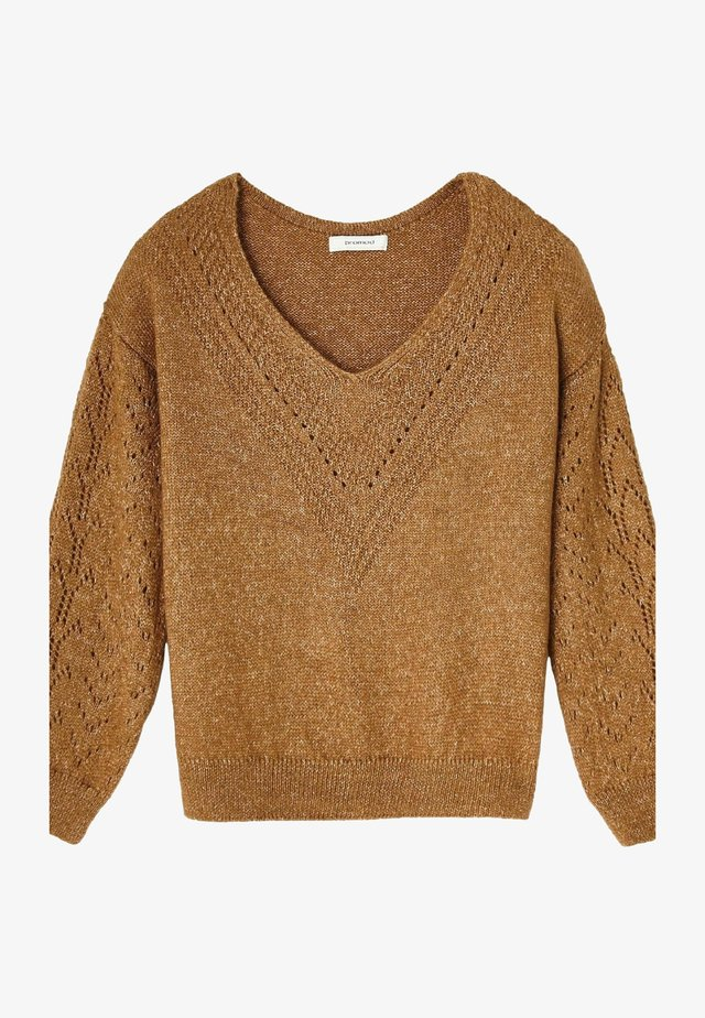 Pullover - light brown