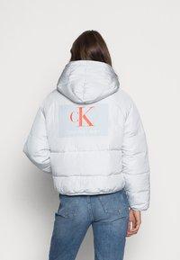 Calvin Klein Jeans - BIG LOGO PUFFER - Winter jacket - stone grey - 2