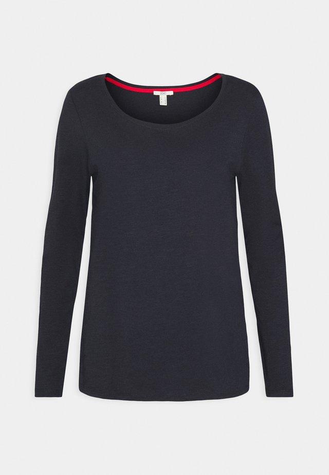 FLOW CORE  - T-shirt à manches longues - navy