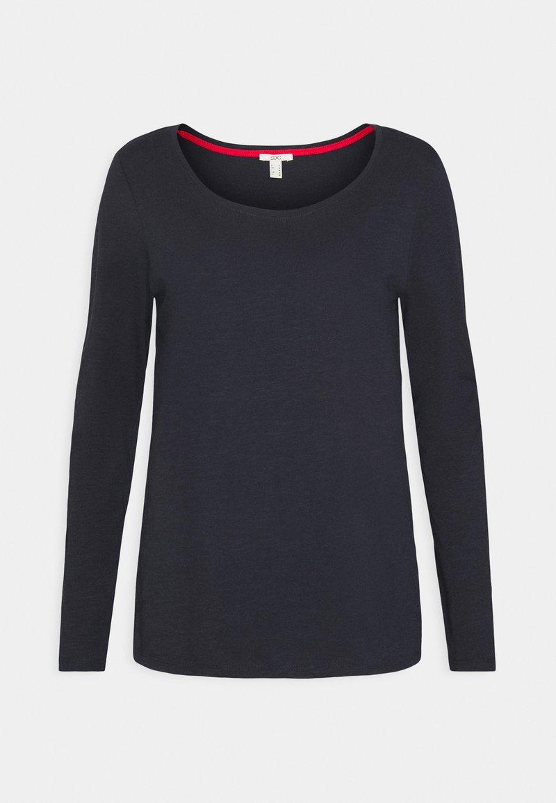 edc by Esprit - FLOW CORE  - Maglietta a manica lunga - navy