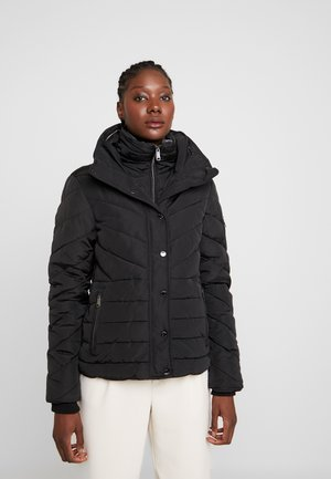 WINTERLY PUFFER JACKET - Winter jacket - deep black