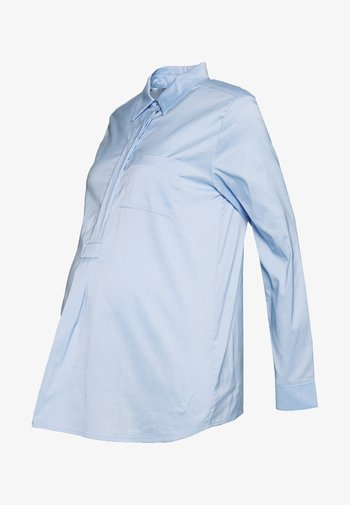 MUENCHEN - Blouse - mid blue