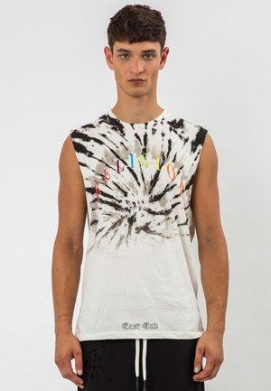 CYCLONE - T-shirt print - winter white