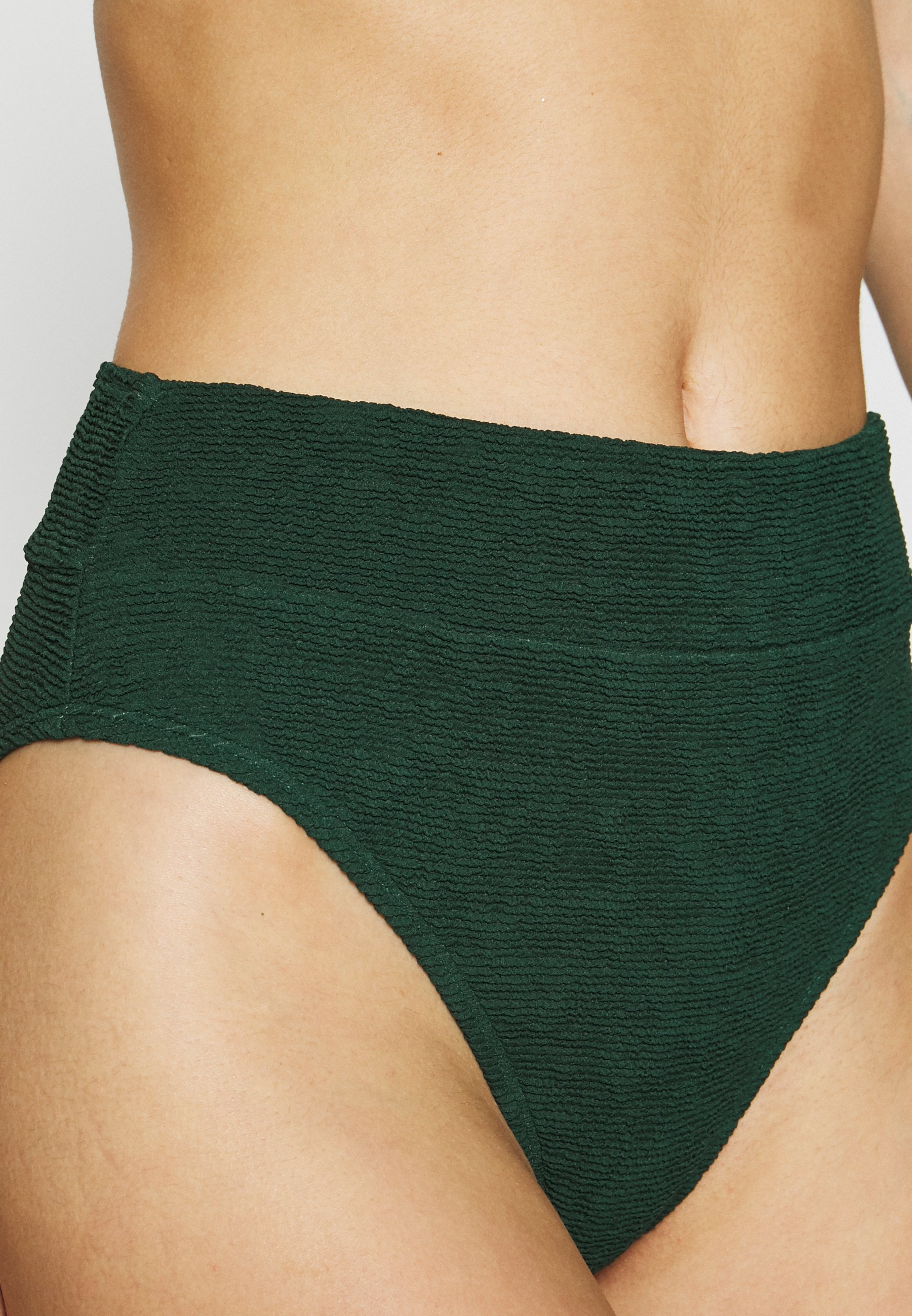 Hunkemöller Indio Hills Highleg - Bikiniunderdel Green/grønn