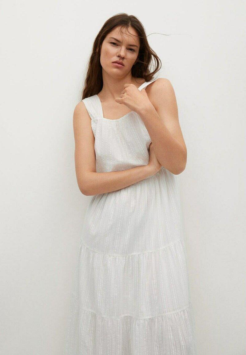 Mango - COQUET - Maxi dress - blanc
