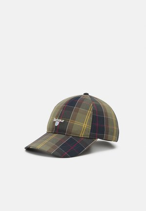 TARTAN SPORTS UNISEX - Cap - khaki/blue/multi-coloured