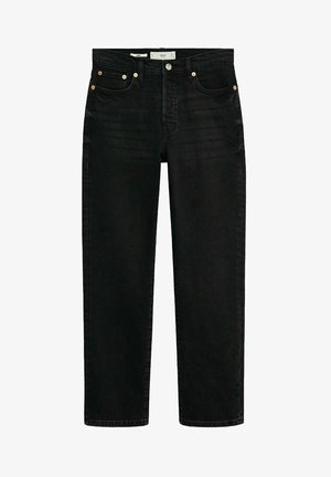 MAR - Jean droit - black denim