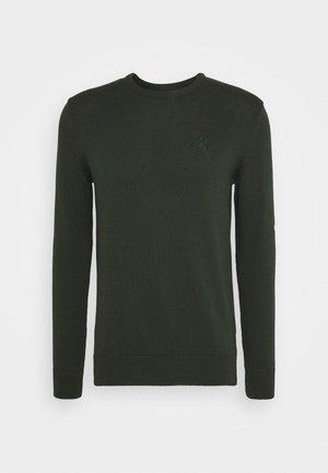 CREW - Jersey de punto - dark green
