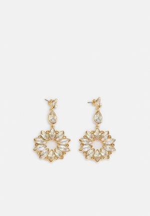 PCZARE EARRINGS - Earrings - gold-coloured/champagne