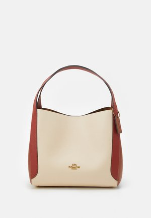 COLORBLOCK HADLEY HOBO - Shopping bag - ivory/red sand/multi