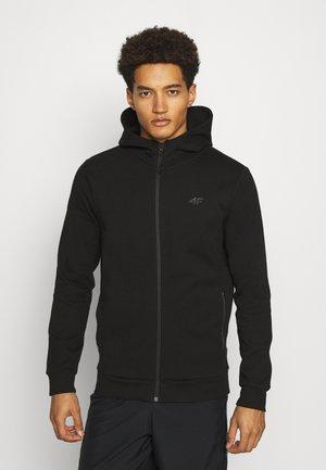 HERREN STEN - Zip-up hoodie - black