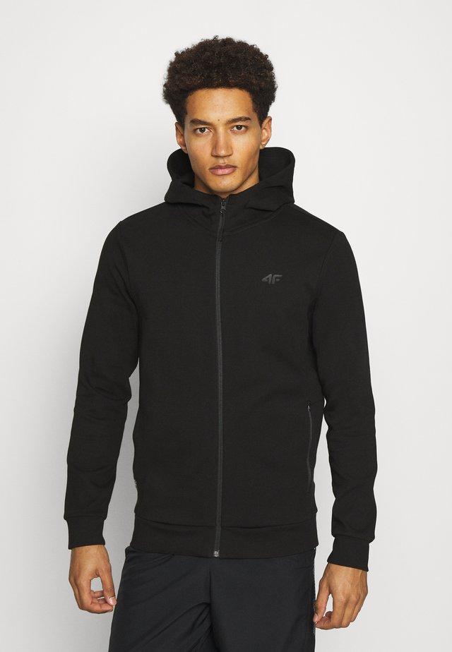 HERREN STEN - veste en sweat zippée - black