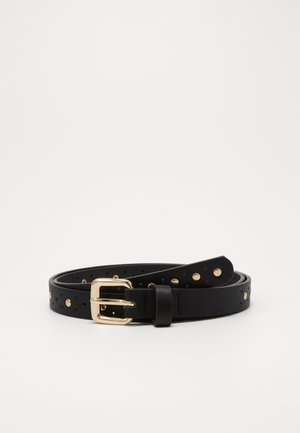 ONLALBA NIT JEANS BELT - Riem - black/gold-coloured