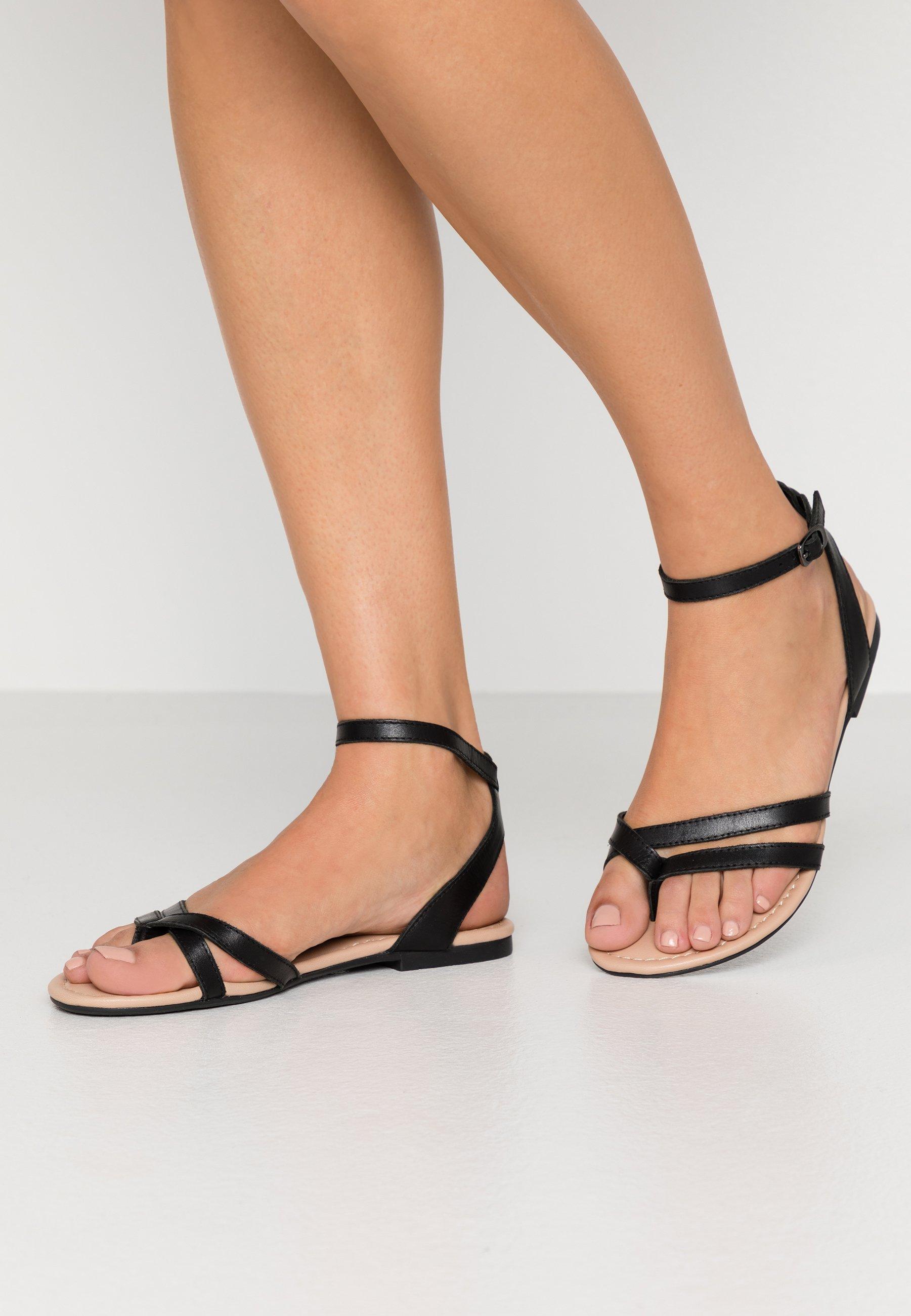 Women LEATHER - T-bar sandals