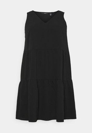 VMOLIVIA PEPLUM DRESS  - Kjole - black