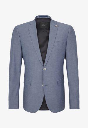 Blazer jacket - blue melange