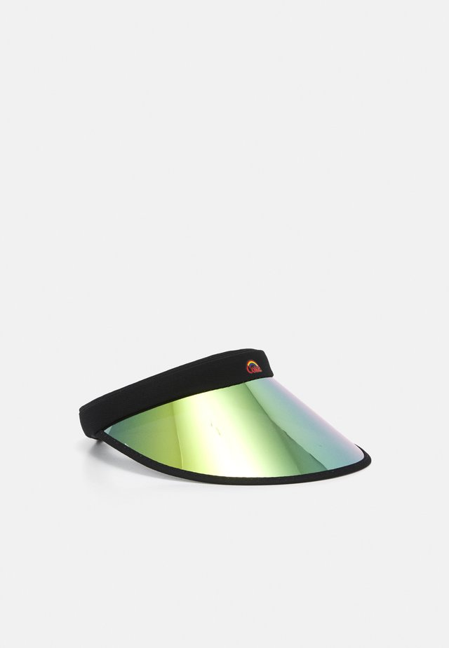 COCA COLA PRIDE VISOR UNISEX - Cappellino - black/orange