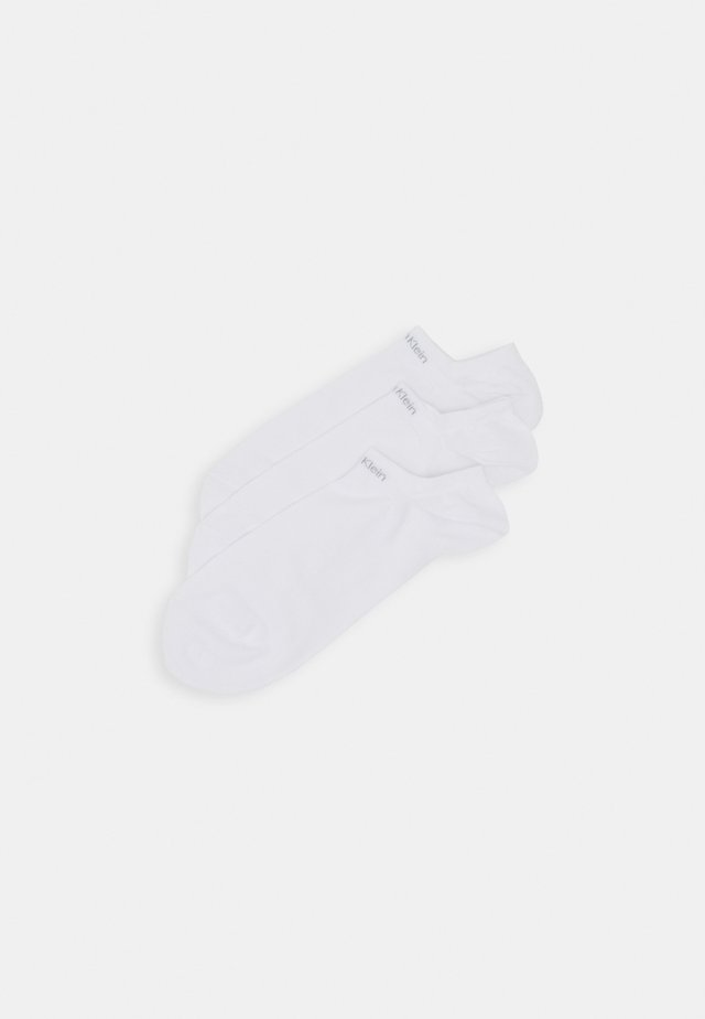 MEN LINER NO CUSHION OWEN 3 PACK - Socks - white