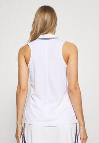 Nike Golf - DRY VICTORY - Funkční triko - white/black - 2