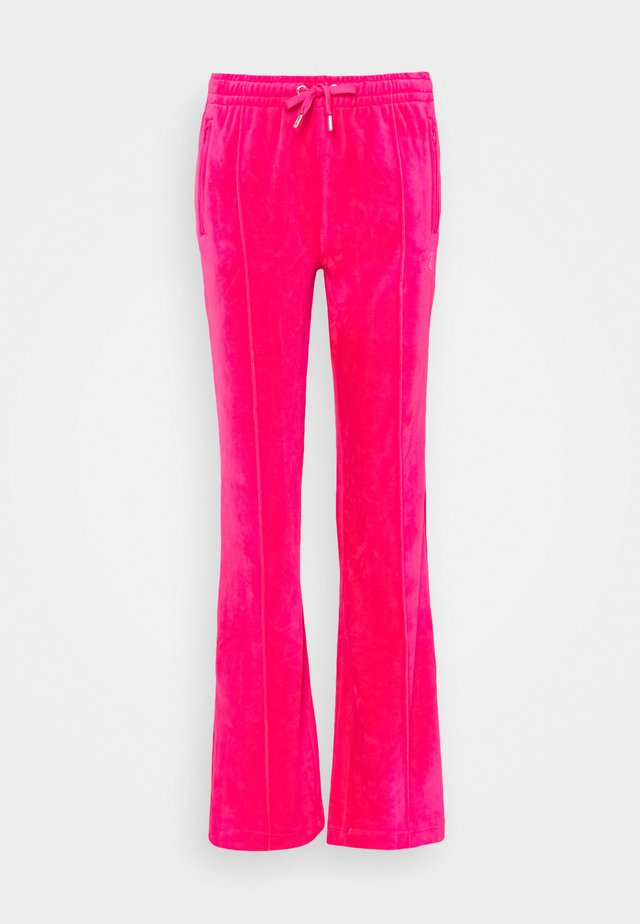 TINA TRACK  - Tracksuit bottoms - pink glo