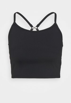 STRAPPY VESTLETTE - Topper - black