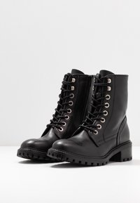 Zign - Botines con cordones - black - 4
