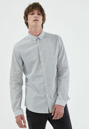 LONG BUTTONED SLEEVES - Shirt - off white