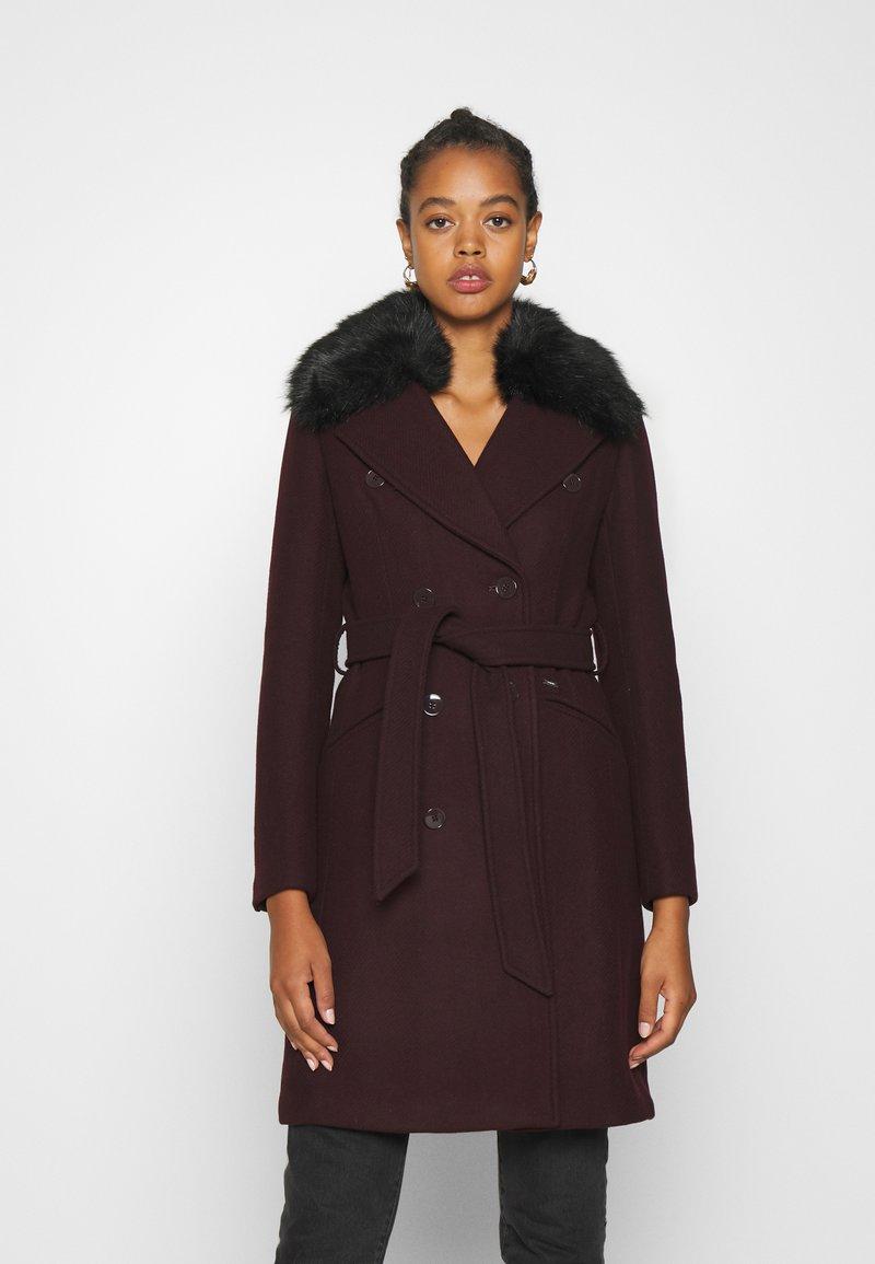 Morgan - Płaszcz wełniany /Płaszcz klasyczny - bordeaux