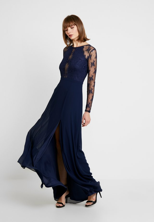 SOMETHING ABOUT HER GOWN - Robe de cocktail - navy