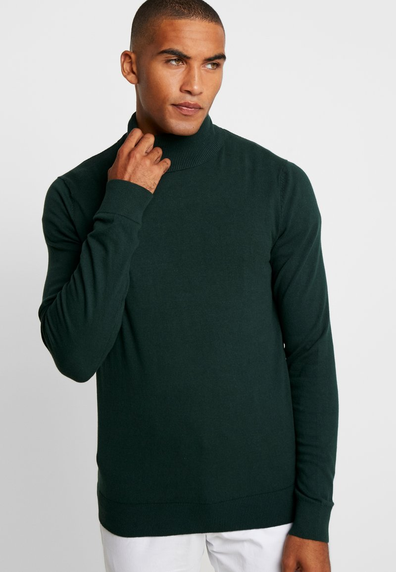 Pier One - Strickpullover - dark green