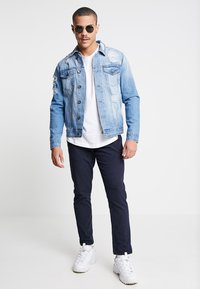 Redefined Rebel - JASON JACKET - Denim jacket - light blue - 1