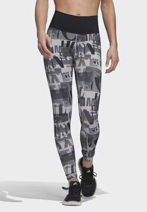 BELIEVE THIS ITERATIONS LEGGINGS - Leggings - grey